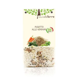 Risotto biologico alle verdure Organic risotto with vegetables