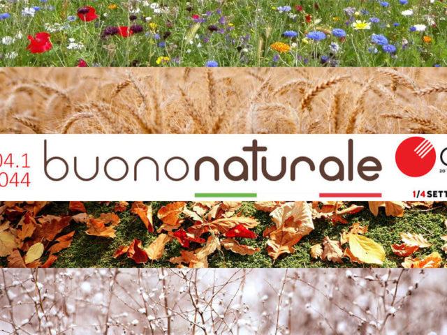 Buononaturale al Cibus 2020, ma a Settembre - 1/4 Settembre 2020 Parma