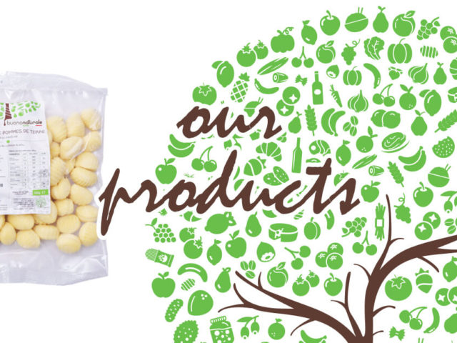 Our products, gnocchi di patate